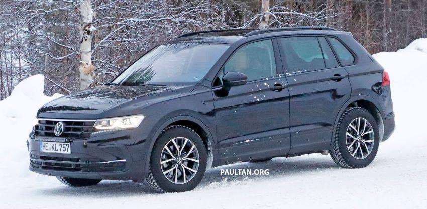 SPYSHOTS: Volkswagen Tiguan facelift seen on test Image #1081136
