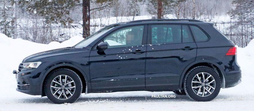 SPYSHOTS: Volkswagen Tiguan facelift seen on test Image #1081134