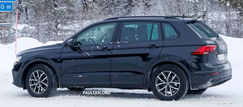 SPYSHOTS: Volkswagen Tiguan facelift seen on test Image #1081132