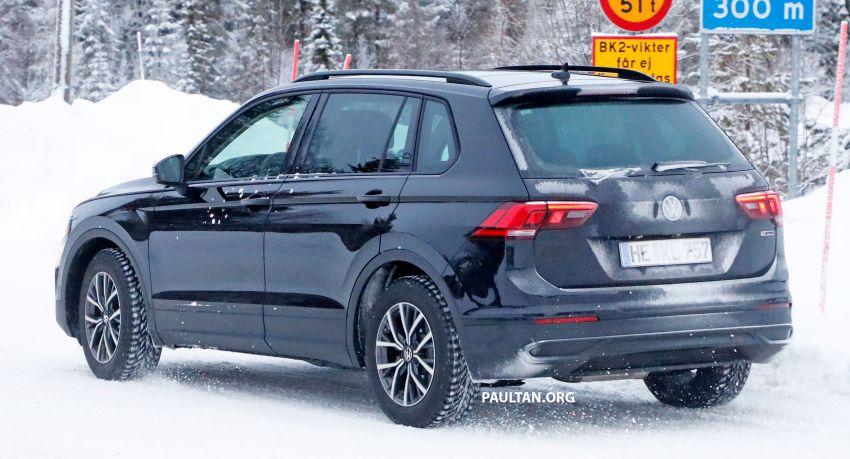 SPYSHOTS: Volkswagen Tiguan facelift seen on test Image #1081131