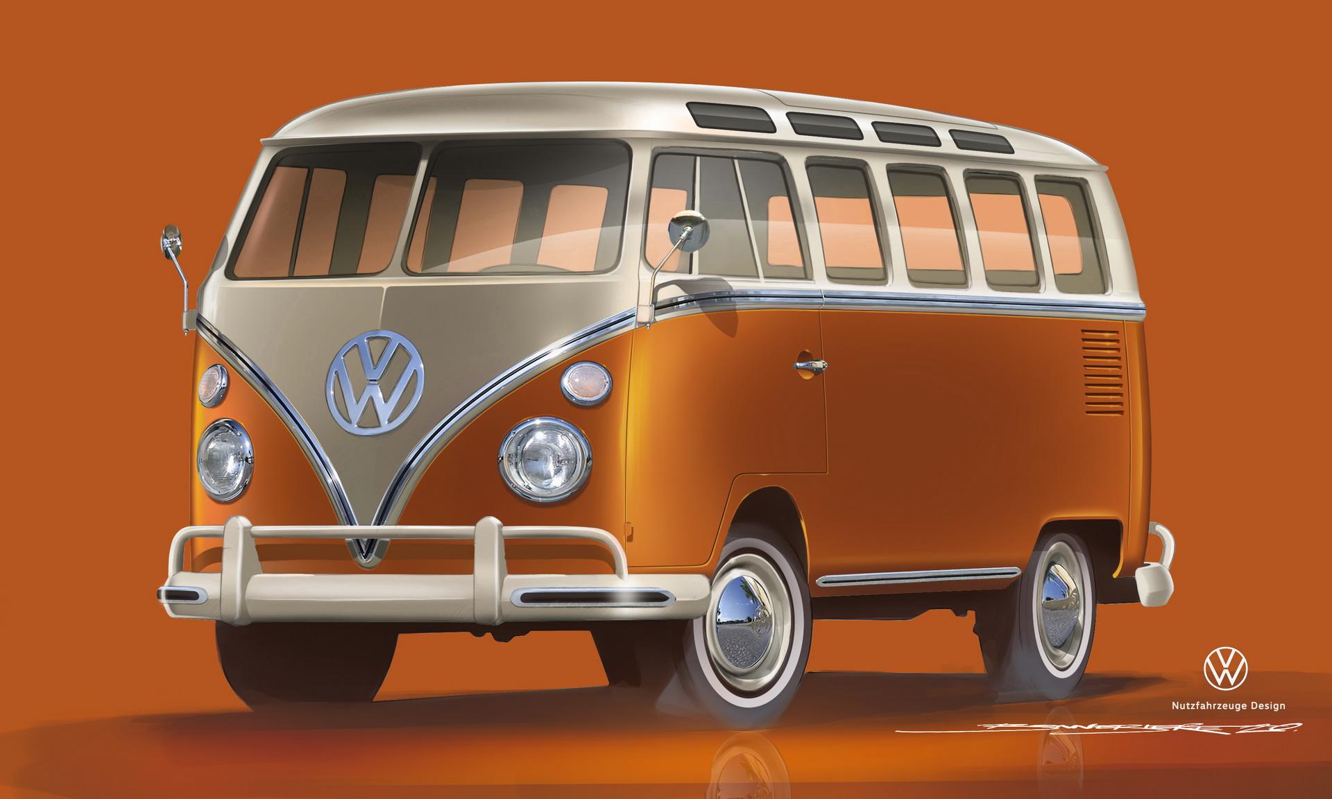 Volkswagen T1 E Bulli An Electric 1966 Samba Bus Paultan Org