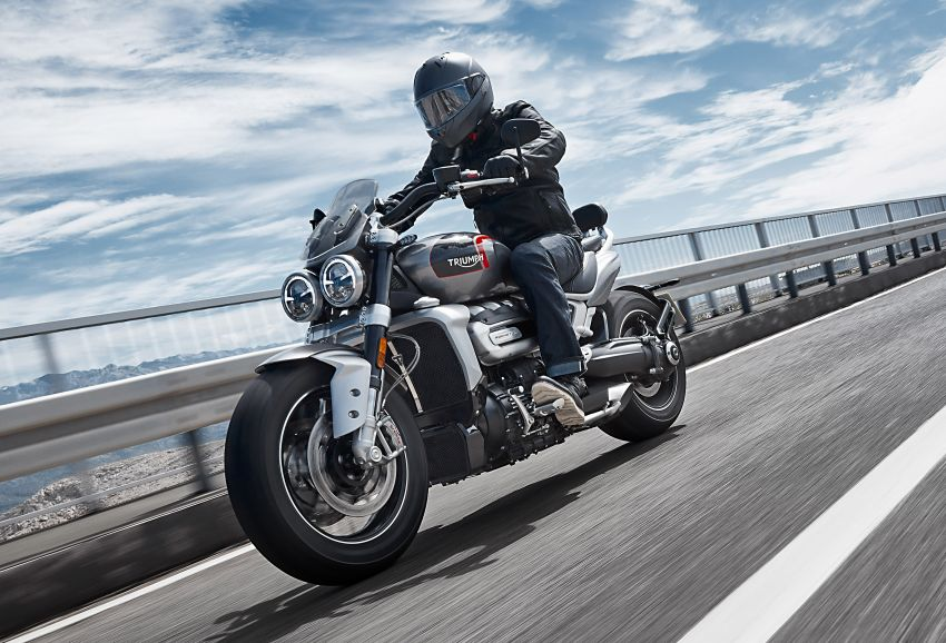 2020 Triumph Rocket 3 R and Rocket 3 GT launched in Malaysia – 2,500 cc, three-cylinder, from RM130,900 Image #1092855