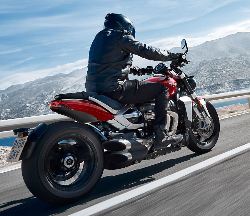 2020 Triumph Rocket 3 R and Rocket 3 GT launched in Malaysia – 2,500 cc, three-cylinder, from RM130,900 Image #1092864