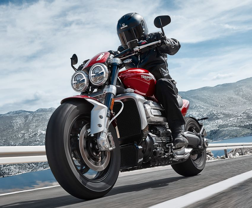 2020 Triumph Rocket 3 R and Rocket 3 GT launched in Malaysia – 2,500 cc, three-cylinder, from RM130,900 Image #1092865