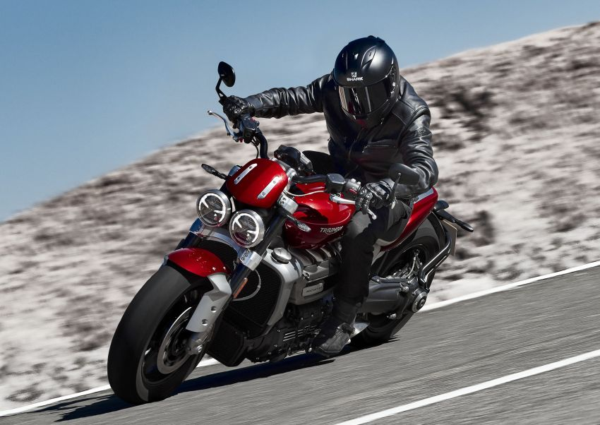 2020 Triumph Rocket 3 R and Rocket 3 GT launched in Malaysia – 2,500 cc, three-cylinder, from RM130,900 Image #1092867