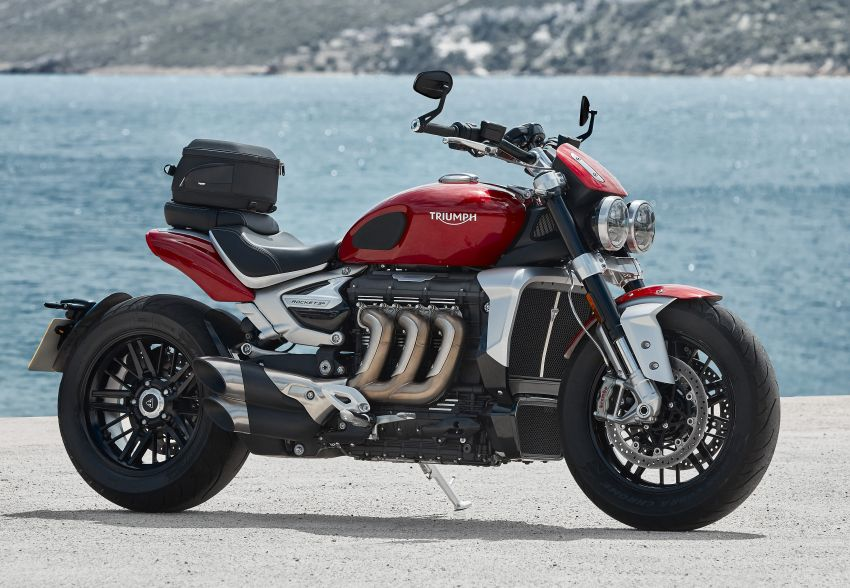 2020 Triumph Rocket 3 R and Rocket 3 GT launched in Malaysia – 2,500 cc, three-cylinder, from RM130,900 Image #1092873