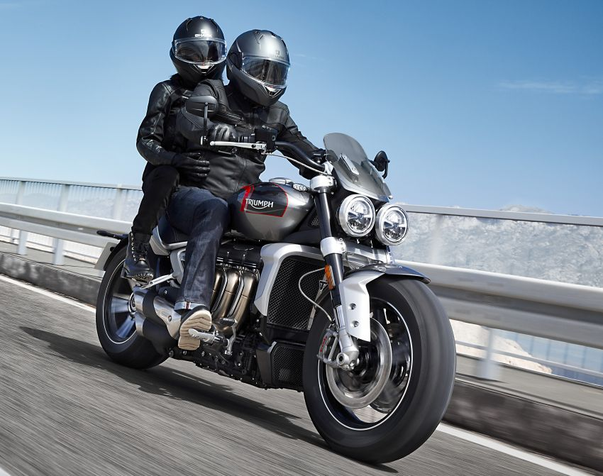 2020 Triumph Rocket 3 R and Rocket 3 GT launched in Malaysia – 2,500 cc, three-cylinder, from RM130,900 Image #1092856