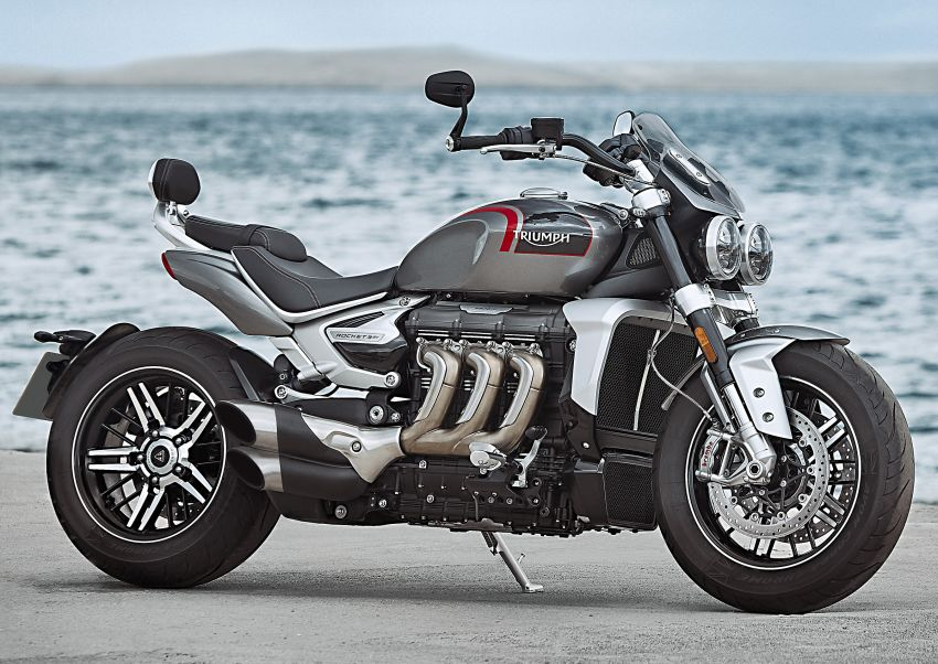 2020 Triumph Rocket 3 R and Rocket 3 GT launched in Malaysia – 2,500 cc, three-cylinder, from RM130,900 Image #1092857
