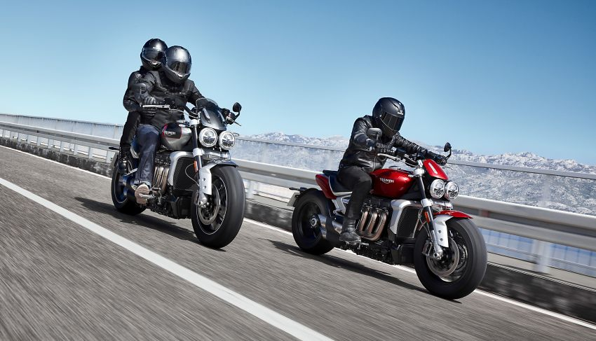 2020 Triumph Rocket 3 R and Rocket 3 GT launched in Malaysia – 2,500 cc, three-cylinder, from RM130,900 Image #1092859