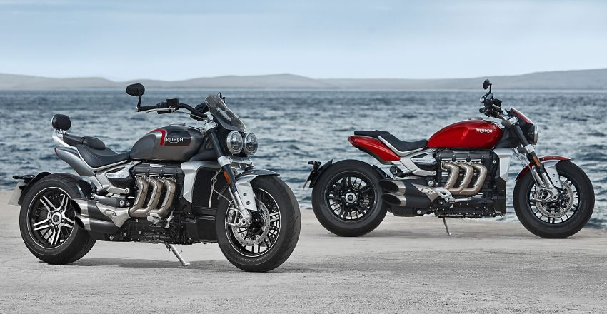 2020 Triumph Rocket 3 R and Rocket 3 GT launched in Malaysia – 2,500 cc, three-cylinder, from RM130,900 Image #1092861