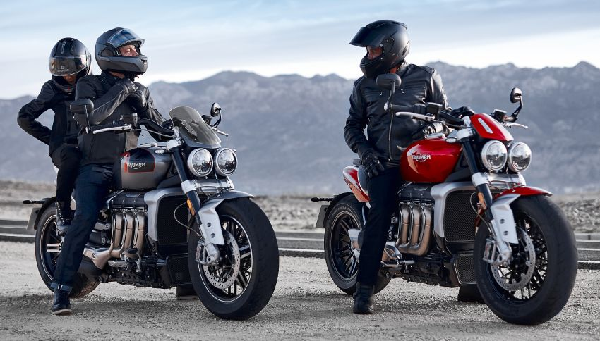 2020 Triumph Rocket 3 R and Rocket 3 GT launched in Malaysia – 2,500 cc, three-cylinder, from RM130,900 Image #1092862