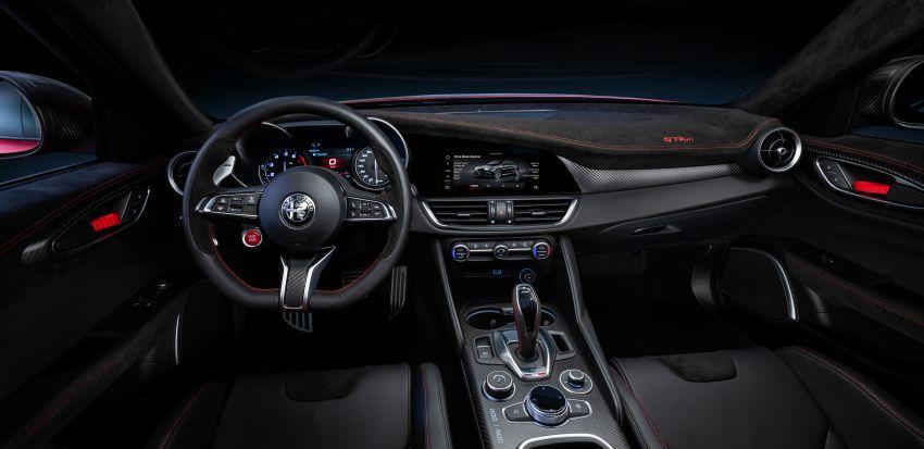 Alfa Romeo Giulia GTA debuts – steroidal Quadrifoglio gets 2.9L biturbo V6, 540 hp; limited to 500 units only! Image #1090150
