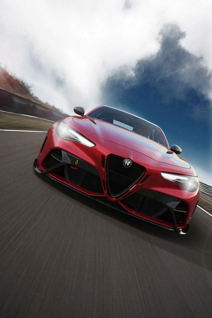 Alfa Romeo Giulia GTA debuts – steroidal Quadrifoglio gets 2.9L biturbo V6, 540 hp; limited to 500 units only! Image #1090135