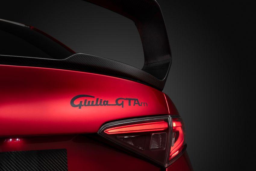 Alfa Romeo Giulia GTA debuts – steroidal Quadrifoglio gets 2.9L biturbo V6, 540 hp; limited to 500 units only! Image #1090155