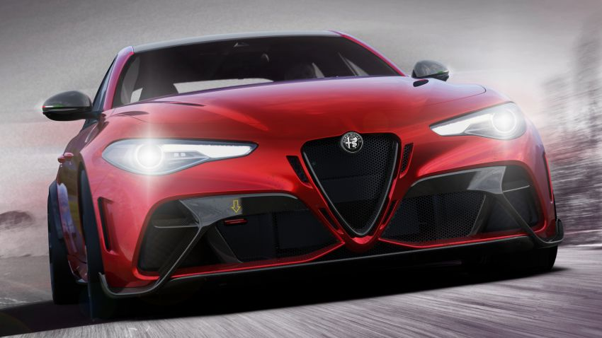 Alfa Romeo Giulia GTA debuts – steroidal Quadrifoglio gets 2.9L biturbo V6, 540 hp; limited to 500 units only! Image #1090137
