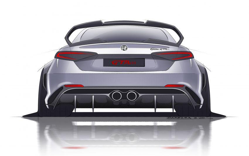 Alfa Romeo Giulia GTA debuts – steroidal Quadrifoglio gets 2.9L biturbo V6, 540 hp; limited to 500 units only! Image #1090141