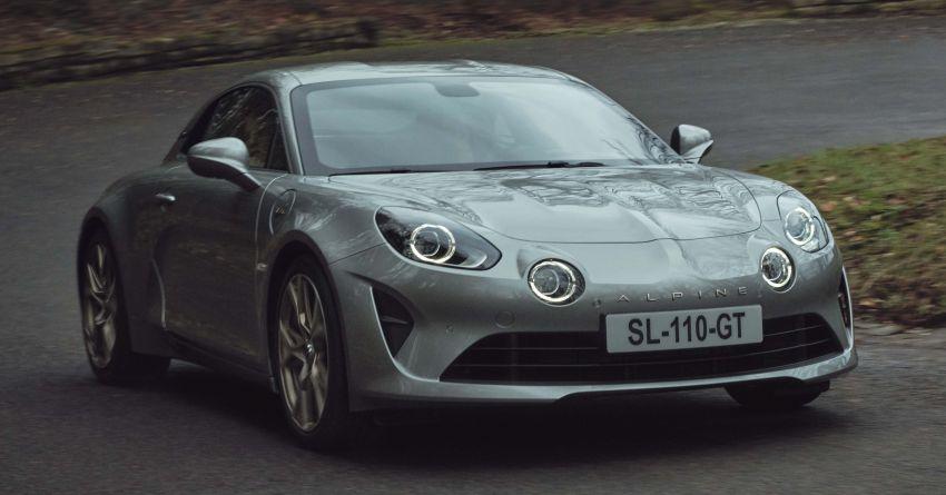 2020 Alpine A110 Legende GT, Colour Edition debut Image #1091356