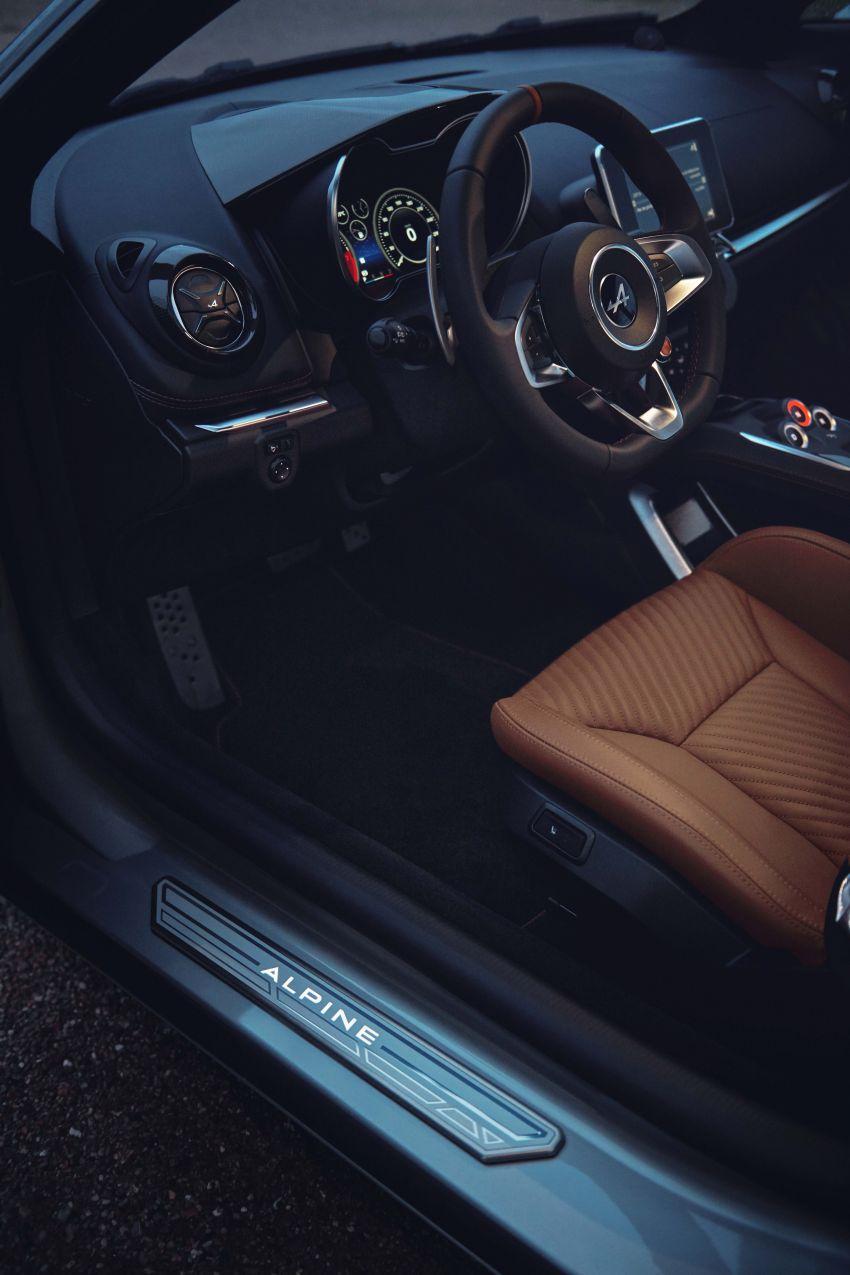 2020 Alpine A110 Legende GT, Colour Edition debut Image #1091357