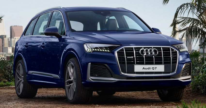 2020 Audi Q7 facelift launched in Thailand – two 45 TDI quattro diesel variants offered; priced from RM653k Image #1097889