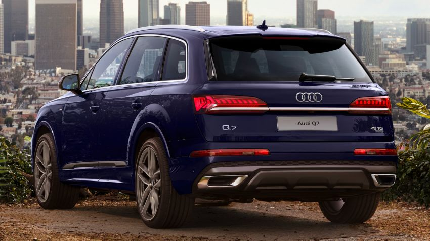 2020 Audi Q7 facelift launched in Thailand – two 45 TDI quattro diesel variants offered; priced from RM653k Image #1097890