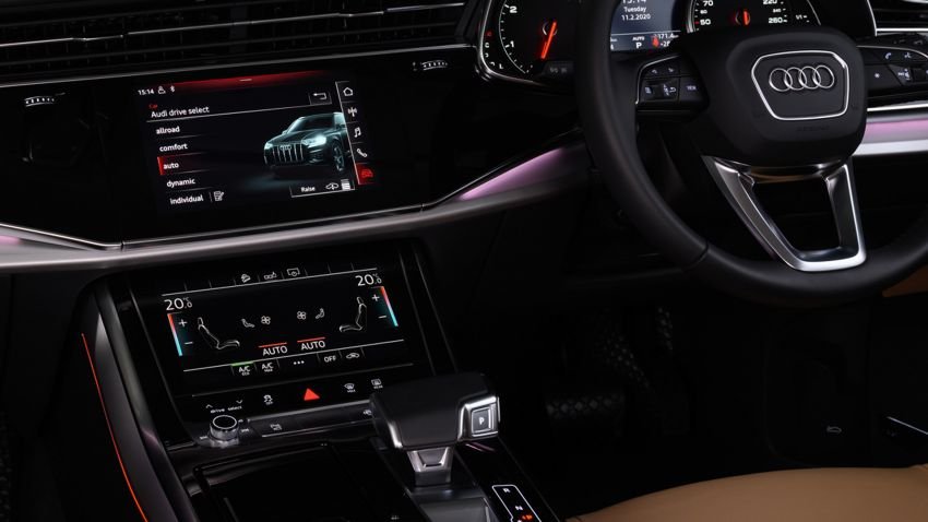 2020 Audi Q7 facelift launched in Thailand – two 45 TDI quattro diesel variants offered; priced from RM653k Image #1097896