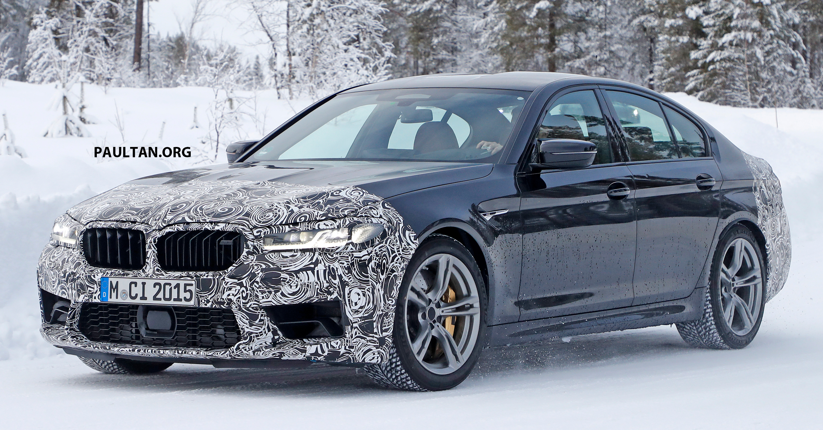 Spied F90 Bmw M5 Facelift New Style More Power Paultan Org