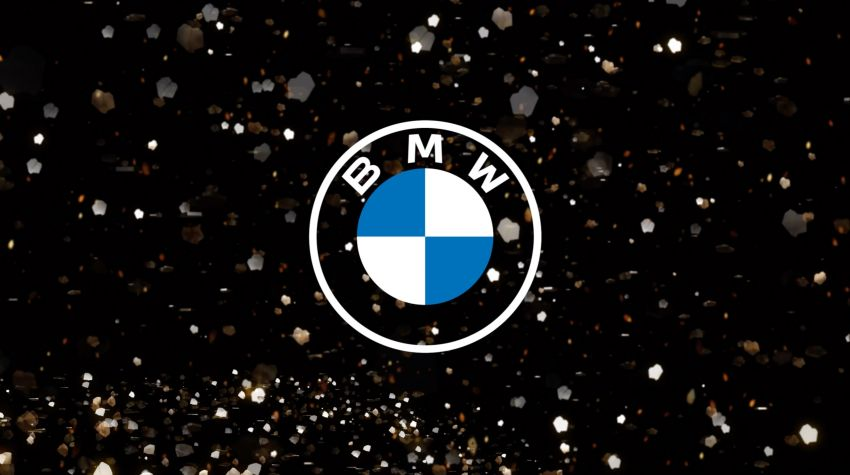 BMW unveils new logo for promotional material; vehicles and dealerships to retain current logo Image #1092558