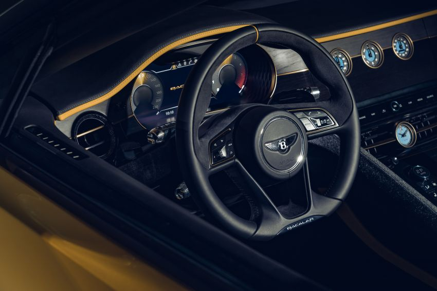Bentley Mulliner Bacalar – two-seater coachbuilt GT, 6.0L W12 TSI makes 659 PS, 900 Nm; 12 units only! Image #1090833