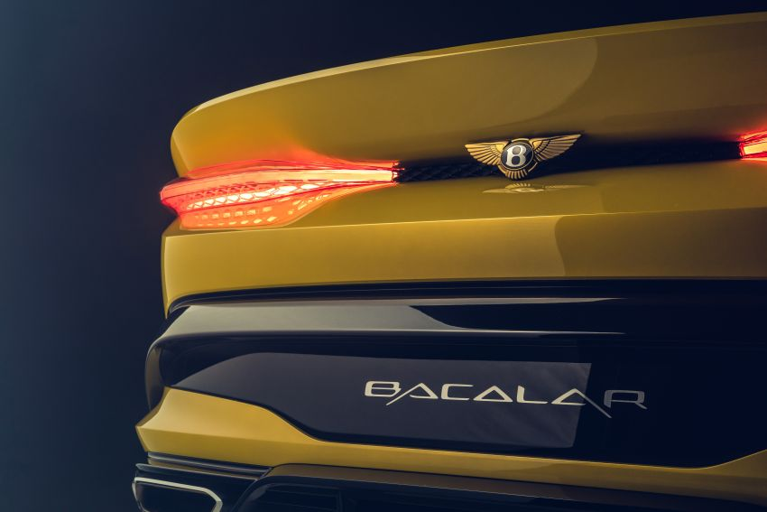 Bentley Mulliner Bacalar – two-seater coachbuilt GT, 6.0L W12 TSI makes 659 PS, 900 Nm; 12 units only! Image #1090838