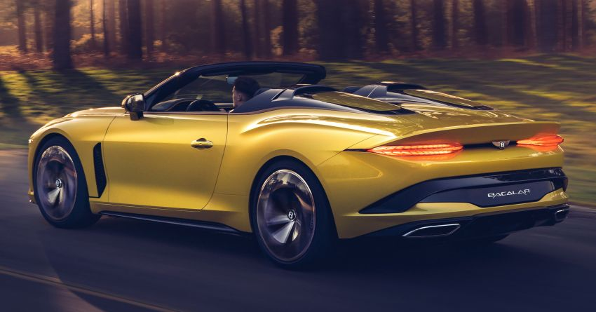 Bentley Mulliner Bacalar – two-seater coachbuilt GT, 6.0L W12 TSI makes 659 PS, 900 Nm; 12 units only! Image #1090826
