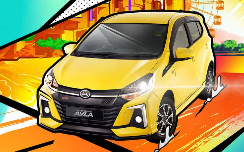 2020 Daihatsu Ayla launched in Indonesia – Agya, Axia sibling gets new styling and kit; priced from RM28,115 Image #1097324