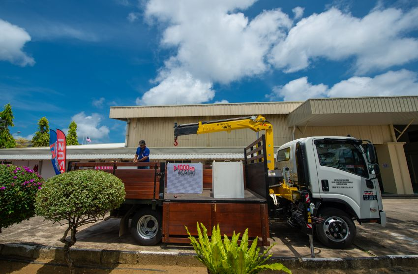 Isuzu D-Max 1.9L Blue Power Dura Challenge – 1,145 km travelled on one tank of diesel, 1,000 kg payload Image #1093554