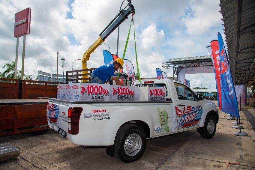 Isuzu D-Max 1.9L Blue Power Dura Challenge – 1,145 km travelled on one tank of diesel, 1,000 kg payload Image #1093572