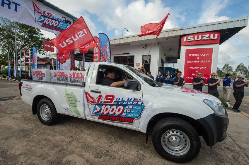Isuzu D-Max 1.9L Blue Power Dura Challenge – 1,145 km travelled on one tank of diesel, 1,000 kg payload Image #1093581