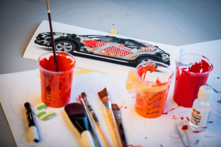 This 2020 Lexus UX is the world's first tattooed car Image #1100251