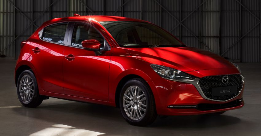 2020 Mazda 2 facelift launched in Malaysia – now with GVC Plus, Android Auto, Apple Carplay; from RM104k Image #1089994