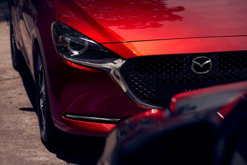 2020 Mazda 2 facelift launched in Malaysia – now with GVC Plus, Android Auto, Apple Carplay; from RM104k Image #1090004