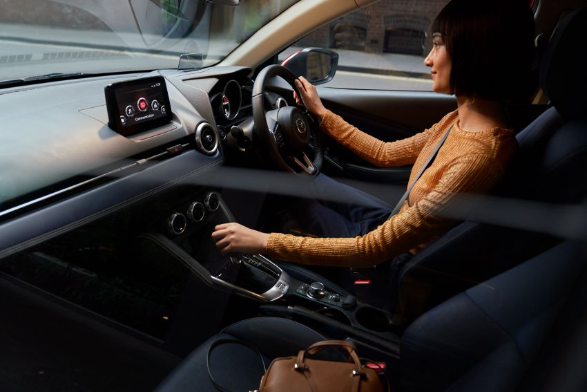 2020 Mazda 2 facelift launched in Malaysia – now with GVC Plus, Android Auto, Apple Carplay; from RM104k Image #1090012
