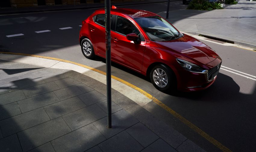 2020 Mazda 2 facelift launched in Malaysia – now with GVC Plus, Android Auto, Apple Carplay; from RM104k Image #1090002