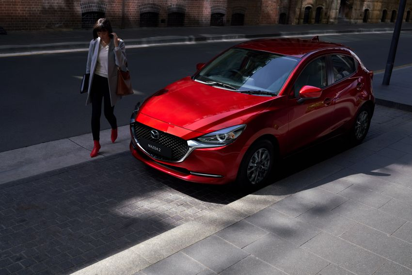 2020 Mazda 2 facelift launched in Malaysia – now with GVC Plus, Android Auto, Apple Carplay; from RM104k Image #1090003