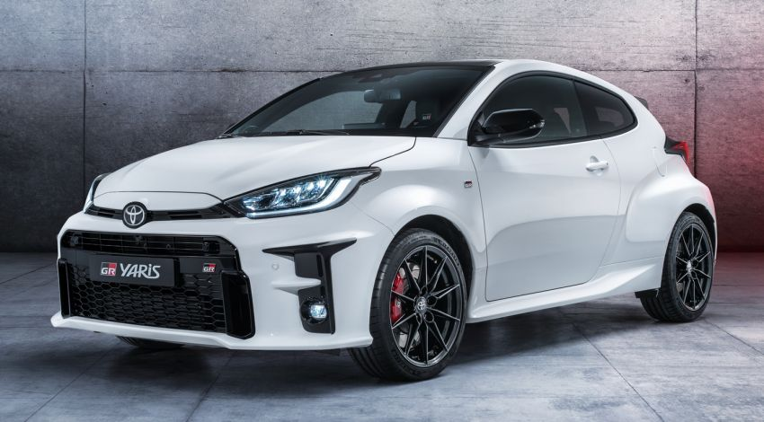 Toyota GR Yaris gets C-seg hot hatch price in Europe Image #1092476