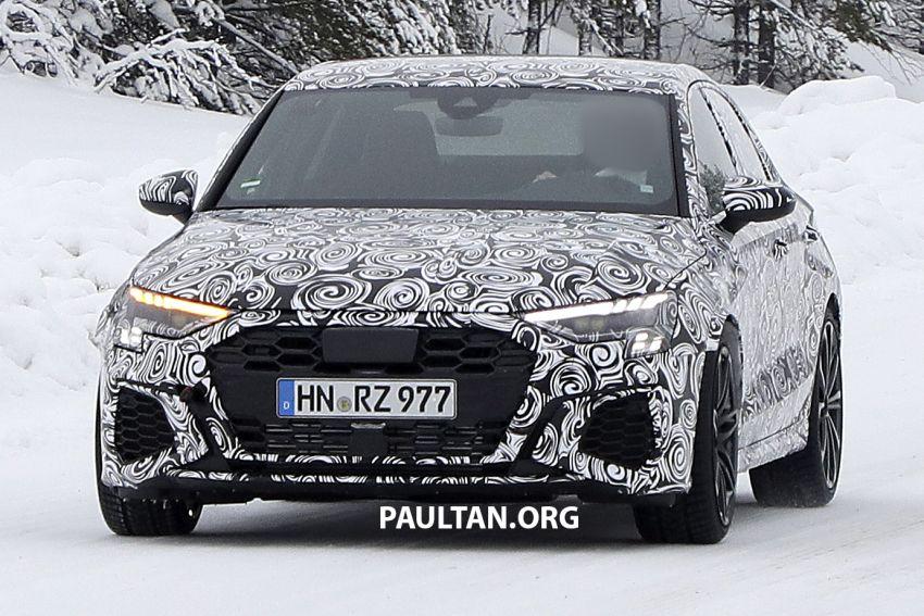 SPIED: 2021 Audi RS3 Sedan – 4 doors, over 400 hp Image #1099535