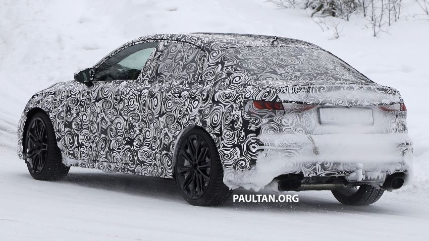 SPIED: 2021 Audi RS3 Sedan – 4 doors, over 400 hp Image #1099545