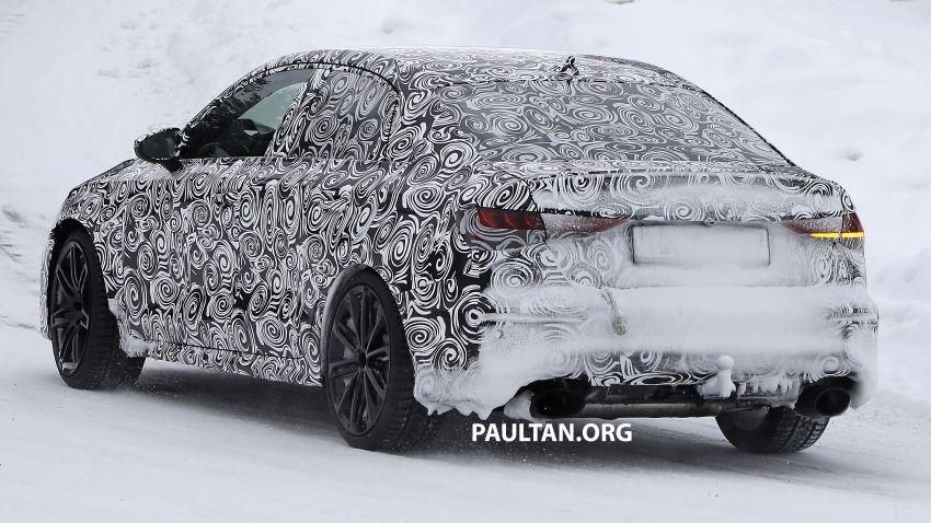 SPIED: 2021 Audi RS3 Sedan – 4 doors, over 400 hp Image #1099546