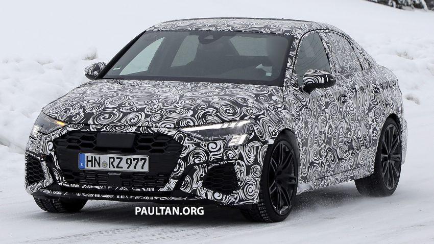 SPIED: 2021 Audi RS3 Sedan – 4 doors, over 400 hp Image #1099537