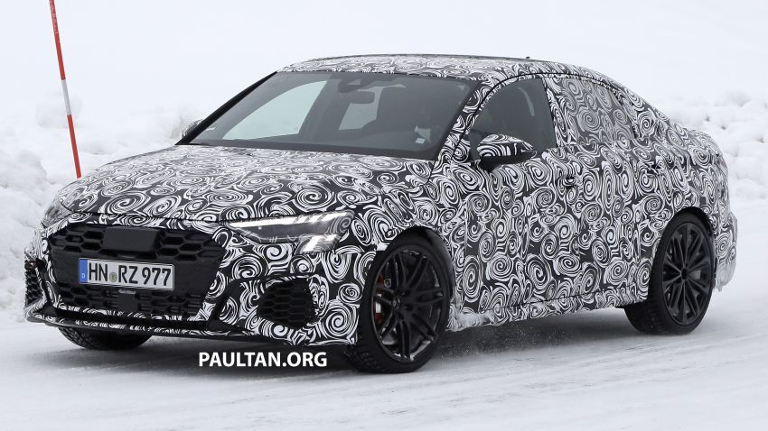 SPIED: 2021 Audi RS3 Sedan – 4 doors, over 400 hp Image #1099539