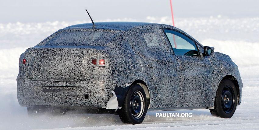 SPYSHOTS: Dacia Logan seen cold-weather testing Image #1095802