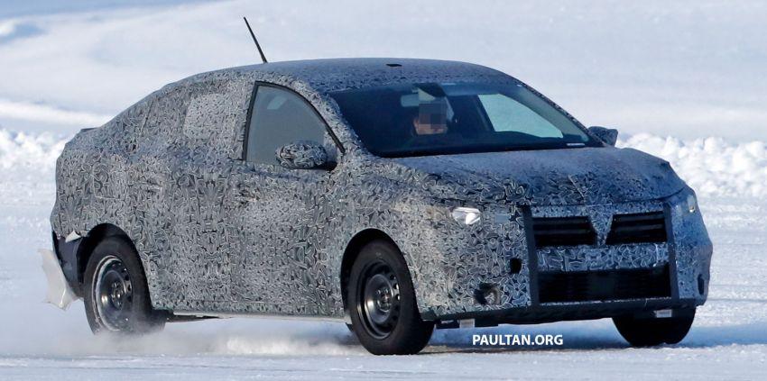 SPYSHOTS: Dacia Logan seen cold-weather testing Image #1095810