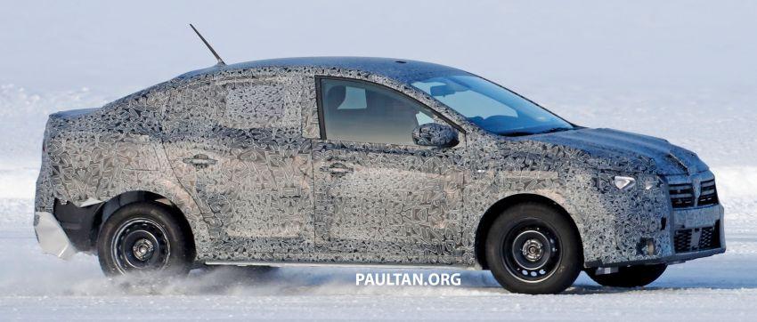 SPYSHOTS: Dacia Logan seen cold-weather testing Image #1095806