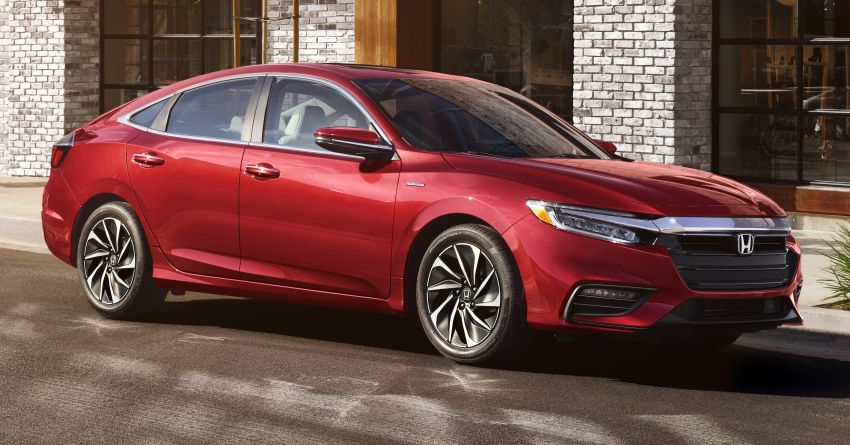 2021 Honda Insight gains new equipment in the US Image #1098677